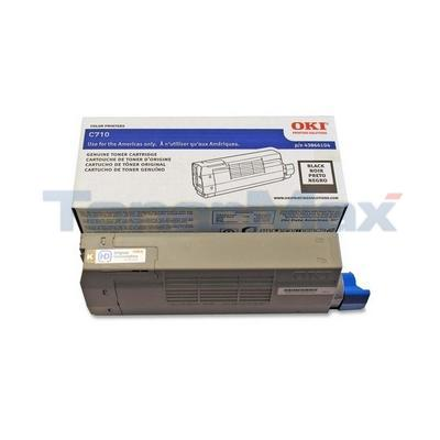 OKIDATA C710 SERIES TONER CARTRIDGE BLACK